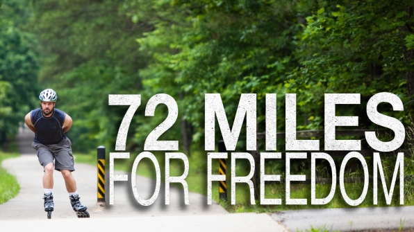 72 miles for freedom