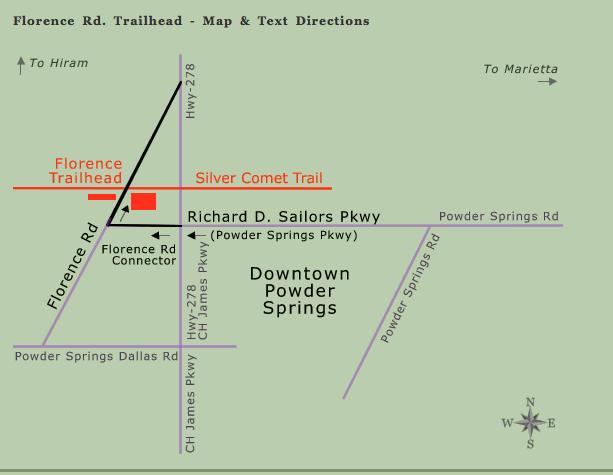 Florence Rd. Trailhead Mile 11.7
