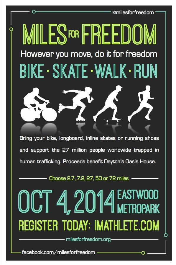 Miles for Freedom Flier Oct. 4 2014