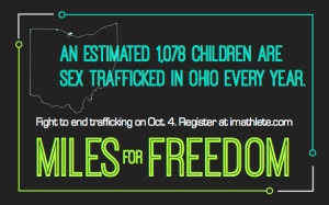 1078 children are sex trafficked in Ohio every year.